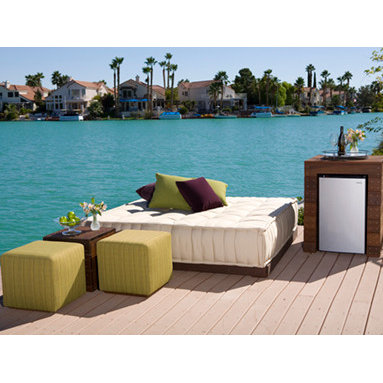 Somers Furniture - Dream the Day Away... - A Bedroom Retreat...Outside