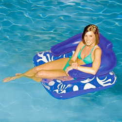 Rave Sports - Aviva Lazy Lounger - 1017000 - Shop for Floats from Hayneedle.com! Grab a beverage sunscreen your Aviva Lazy Pool Lounger and head to your backyard for some well deserved rest and relaxation. This pool lounger has it all: a large backrest neck support pillow open bottom and 2 cup holders! There is no better way to enjoy the warm summer sun than in comfort and style with this luxury lounger.About Aviva ProductsNestled in the heart of Lake of the Ozarks is headquarters for Aviva. It was here that Aviva launched its exciting endeavor to create a company that offers innovative high-quality and (most of all) fun recreational inflatable products. Early success fueled Aviva to expand its innovative product offerings in both commercial-grade and consumer-grade product categories. With offices and warehouses in USA Europe and Asia the popular products from Aviva now span the planet.