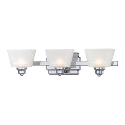 Designers Fountain - Designers Fountain 6673-CH 3-Light Bath Bar - Designers Fountain 6673-CH 3-Light Bath Bar