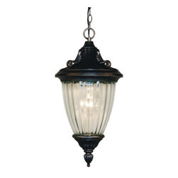 Z-Lite - Z-Lite 504M-CH-BS Waterloo 1 Light Pendant with Glass Cylinder Shade - Features: