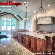 Mediterranean Kitchen by Architectural Designs