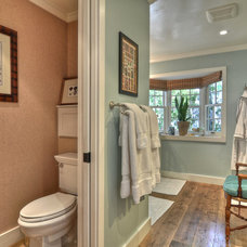 Eclectic Bathroom by Kathleen DiPaolo Designs