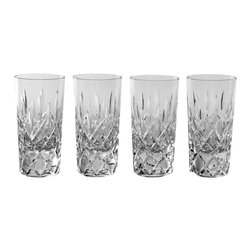 IMPERIAL COURT, INC. - Elizabeth Vodka Glasses Clear Crystal, Set Of 4 - Influenced by the timeless classic design and richly restored. Mouth-blown, hand-cut, handcrafted by highly skilled craftsmen using only the finest quality crystal and hundred-year-old traditional techniques