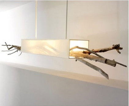 Rustic Ceiling Lighting by Bleu Nature