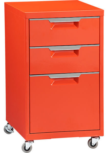 Modern Filing Cabinets And Carts by CB2