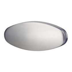 Hafele - Brushed Nickel Drawer Pulls - Hafele item number 109.73.601 is a beautifully finished Brushed Nickel Drawer Pulls. Product Diminsion(s): Hole Spacing: 16.002 mm. /  5/8 in.Diameter: 35.052 mm. / 1 3/8 in.Projection: 66.548 mm. / 2 5/8 in.
