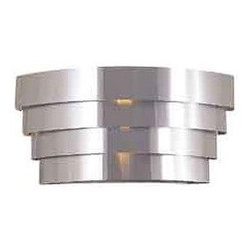 International 2-Light Deco Wall Sconce - These deco sconces would make for a pretty pair flanking a headboard or fireplace.