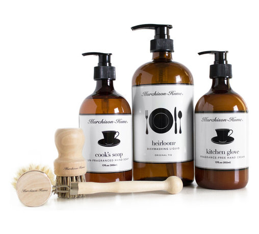 Murchison-Hume - Murchison-Hume Home Chef Set - Original Fig - We love our Home Cook Heroes. They warm our hearts, fill our tummies and make a house a home. Celebrate your favorite Chef with gorgeous products that make cleaning up a breeze.
