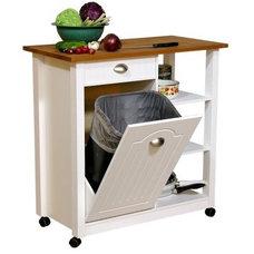 Modern Kitchen Trash Cans by Hayneedle