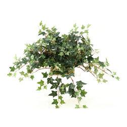 D&W Silks - D&W Silks Mini English Ivy Tile Topper - Mini English ivy tile topper