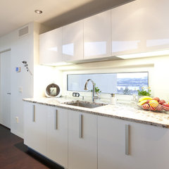 contemporary kitchen cabinets by Pedini Calgary