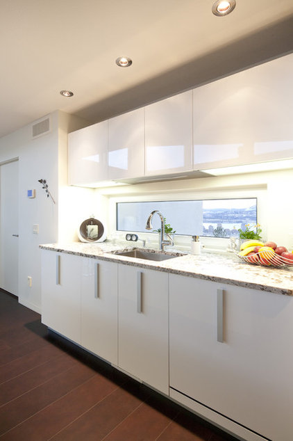 Contemporary Kitchen Cabinetry by Pedini Calgary