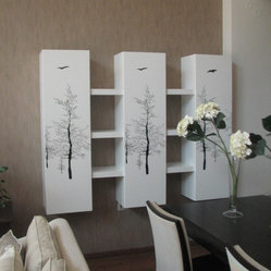 "bookcase ""trees"""