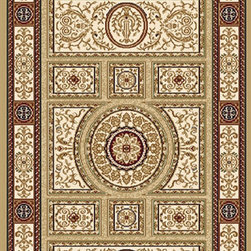 """Home Dynamix - Home Dynamix Rug, Gold, 2' 3"""" x20' - The Regency Collection by Home Dynamix is stunningly beautiful in every detail,   each and every design in this ultra high density collection takes full advantage of the super fine design point capability. Regency rugs are Wilton woven of soil, stain and fade resistant superior Nealane polyolefin yarn, with over 1,500,000 points per square meter. If a rug of this density were hand knotted,it would cost thousands of dollars.  The variety of colors and designs in this collection is sure to bring life to any room setting while the wide  size selection would please even the most sophisticated and demanding customer."""