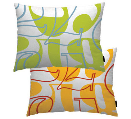 Contemporary Decorative Pillows by notNeutral