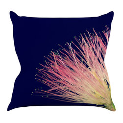 "Kess InHouse - Robin Dickinson ""Oh Happy Day"" Throw Pillow (18"" x 18"") - Rest among the art you love. Transform your hang out room into a hip gallery, that's also comfortable. With this pillow you can create an environment that reflects your unique style. It's amazing what a throw pillow can do to complete a room. (Kess InHouse is not responsible for pillow fighting that may occur as the result of creative stimulation)."