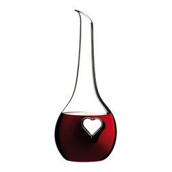 Riedel - Riedel Black Tie Bliss Decanter - Mouth blown lead Crystal decanter.  Made in Austria. Hand wash