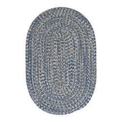 Colonial Mills, Inc. - Tremont, Denim Rug, Sample Swatch - You live in denim — so why shouldn't the casual areas of your casa? This soft-textured wool-blend rug affords the same easygoing style and versatility of your favorite jeans.