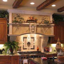 Kitchen Backsplashes - Available through an authorized Landmark Metalcoat Dealer or by visiting our wesite at www.landmarkmetalcoat.com