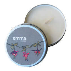 Emma at Home - Fuchsia (Belgian Berry) Candle - The charming fuchsia design on this tin sells it even before it's opened. And who doesn't love having a collection of candles to freshen up the house? They make ordinary moments feel special and romantic.
