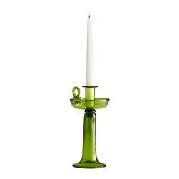 Cyan Design - Green Candelero - Green candelero in green.