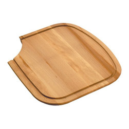 AstraCast - AstraCast US2DCB97PK Small Beech Wood Chopping Board - AstraCast, a division of Jacuzzi, is recognized worldwide as a market leader in the manufacture of kitchen sinks, taps and accessories, and have been manufacturing stainless steel and composite sinks for over 26 years.  Innovation, Design, and Performance are the foundation of all AstraCast products.  The USA 'D' Double Bowl accessories transforms the sink into a complete food preparation area.  Available accessories include: Chopping Boards, Stainless Steel Grids, Baskets, Colanders and Bowls. This small Beech Chopping Board is used on the smaller right hand bowl and features a hand hole cut out for ease of placement.