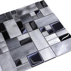Modern Tile by Backsplash