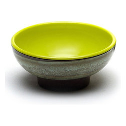 EGS - Green Apple Sweet Tart 22 oz. 6 1/4 Dia x 2 3/4h Sweet Tart Round Bowl 6 Bowls - DescriptionsWhat do you get when you combine modern ceramic artistry with the colors of a classic childhood candy. Here is looking at you Sweet Tarts