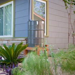 Rain Barrel by Green Water -