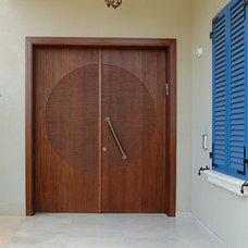 Eclectic Front Doors by Doors4Home