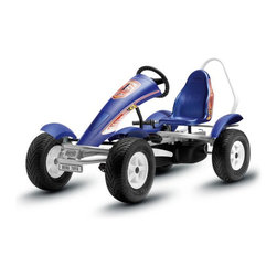 Berg USA - Berg USA Racing BF-3 Pedal Go Kart - 03.55.84.00 - Shop for Go Karts from Hayneedle.com! Ready set go! The BERG Racing BF-3 Riding Toy was made for racing whether it's around a driveway or on a closed circuit track. The kart's low profile racing tires grip pavement. The three gears allow for easier pedaling. The roll bar adds peace of mind. And the back of the kart is beautiful which is nice for your opponents. This kart with its car-like control serves up a healthy amount of fun and sweet victory.About BERG USAFounded in 2010 BERG USA is quickly becoming a recognized name in children's riding toys with their innovative designs and attention to safety that don't get in the way of their dedication to providing outdoor exercise for both kids and adults. BERG USA designs and offers a wide variety of high-quality pedal go-karts for home or commercial use ranging in size to comfortably accommodate ages 2 through adult as well as their versatile line of MOOV construction kits.