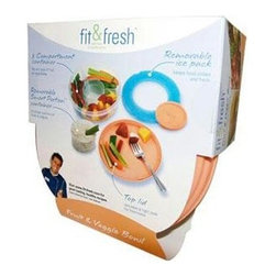 Fit And Fresh - Fit And Fresh Fruit And Veggie Bowl - 1 Bowl - MEDport Fit and Fresh Fruit and Veggie Bowl Description: