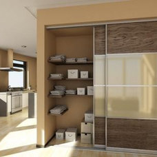 Contemporary Closet Organizers by Wardrobe Design Online Ltd
