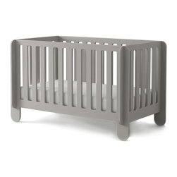 Oeuf Elephant Crib - Oeuf teams up with Spanish designer Carlos Tiscar to create the Elephant, a crib that can be assembled with minimal hardware in 10 minutes. This crib was designed to be a fun addition to a nursery and to make the lives of modern parents easier. The Elephant combines the design sensibility of Tiscar, a Spanish artist, with Oeuf's experience making safe and sustainable baby furniture.