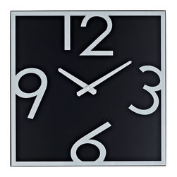 LexMod - Schoolhouse Wooden Wall Clock - Demonstrate mathematical operations graphically with this playful teaching tool. Divide time into pieces as logical steps help children differentiate between hidden and visible numbering. Let the formative years of youth develop basic analytics while accurately portraying time and rendering reality.
