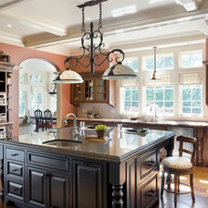 Traditional Kitchen by E.W. Tarca Construction, Inc
