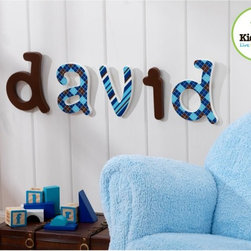 KidKraft - KidKraft Preppy Solid Letter Wall Decor Multicolor - 91601 - Shop for Wall Decorations from Hayneedle.com! Not just for shirt-and-tie types KidKraft Preppy Solid Letter Wall Decor will update your child's room with a splash of color and personalization. These decorative wall-hanging letters come in brown white and blue shades. All letters are in a traditional lowercase font as shown and measure 6 inches high. Choose the letters you need to spell out a name word or special phrase. Patterned letters sold separately. About KidKraftKidKraft is a leading creator manufacturer and distributor of children's furniture toy gift and room accessory items. KidKraft's headquarters in Dallas Texas serves as the nerve center for the company's design operations and distribution networks. With the company mission emphasizing quality design dependability and competitive pricing KidKraft has consistently experienced double-digit growth. It's a name parents can trust for high-quality safe innovative children's toys and furniture.