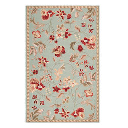 Flor FLO8997 Rug - 6'Round - This modern new Transitional rug made in 100% Wool from the fall 2011 collection by Surya will be sure to compliment whatever interior setting you are building for your home. High quality materials make the texture and feel of this rug a pleasure to walk on and touch. Fit to make any room in your home the lap of luxury, these carefully crafted rugs come in all different shapes and sizes, colors and designs, styles, materials and fabrics. These area rugs are certain to add a touch of style and class to your home without breaking the bank.
