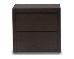 Bryght - Felton Light Cappuccino Nightstand - Classic with simple elegant lines, the Felton nightstand goes well with the Felton bed and dresser.