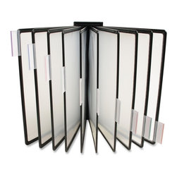 Business Source - Business Source Basic Catalog Rack Replacement Panels - 10 Panels - 2 Sheet(s) - Replacement panels are designed to expand Business Source 10-panel Catalog Racks. Included 10 panels hold up to 20 letter-size sheets and come with 10 index tabs.