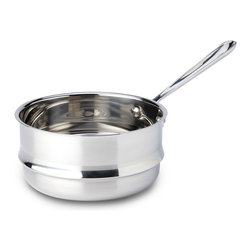 All-Clad - All-Clad Double Boiler Insert for 3 qt. and 4 qt. Sauce Pans (4703-DB) - Made in China.