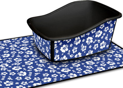 Eclectic Litter Boxes And Covers by moderntails.com