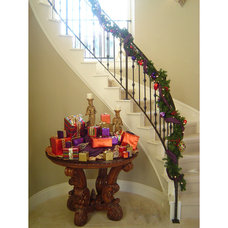 Traditional Staircase by Bates Design Associates, LLC