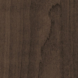 Trending in 2014 - New in 2014, Havana 3D Laminate is a trending brown woodgrain with a warm allure. Would be beautiful paired with soft neutrals or pastels in any Kitchen, Closet, Media Room, Office, or Bathroom.