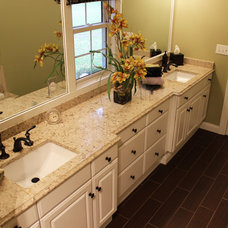 Transitional Bathroom Countertops by Cabinet-S-Top