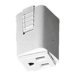 Juno Lighting - Juno T33 Track Outlet Adapter - Outlet adapter provides electrical receptacle to trac.