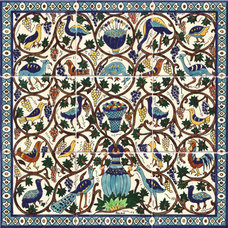 Mediterranean Tile by The Armenian Ceramics of Jerusalem
