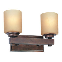Dolan Designs - Dolan Designs 3112-90 Sherwood Sienna 2 Light Vanity - Dolan Designs 3112-90 Sherwood Sienna 2 Light Vanity