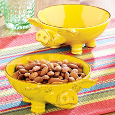 Eclectic Serving Bowls by Cost Plus World Market