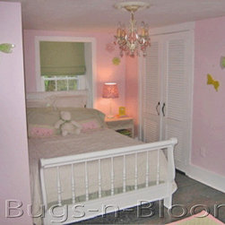 Childrens Room Decorations - Bugs-n-Blooms